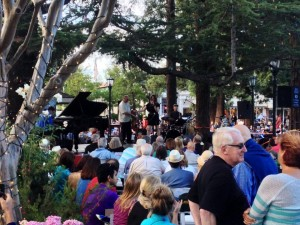 Jazz on the Plazz concert
